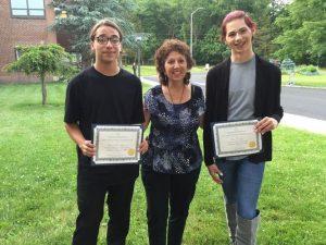Van Houten House Resident Receives Scholarship